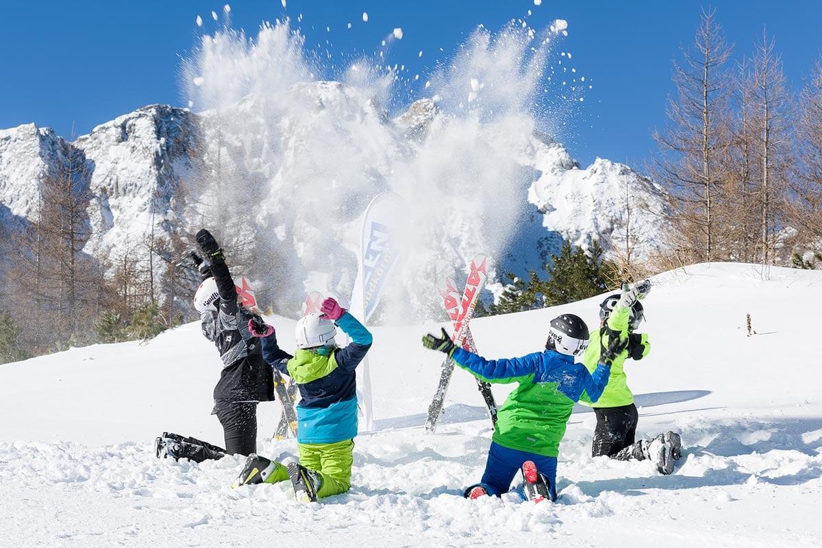 Winterwandern, Skifahren, Eislaufen, Schneeschuhwandern und entspannen in einem ruhigen und erholsamen im Winter- Aktivurlaub in Kärnten