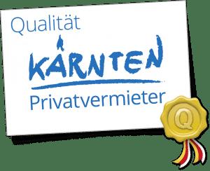 Qualitätsgütesiegel Kärnten Logo