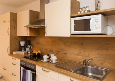voll-ausgestattete-küche-kärnten-apartment-turnersee