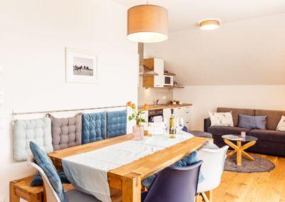 Apartment-Klopeiner-See-Wohn-Esszimmer